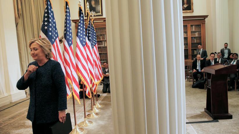 US-Wahl: Die Gesundheit Hillary Clintons, US-Präsidentschaftskandidatin der Demokraten, rückt immer weiter in den Vordergrund.