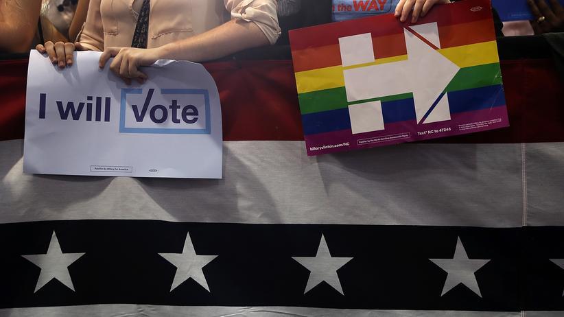 US-Wahl: Umfrage sieht Clinton nach TV-Duell vorn