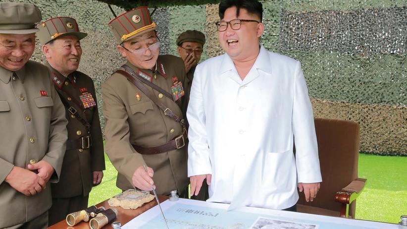 Nordkorea: Kim Jong Un reizt China