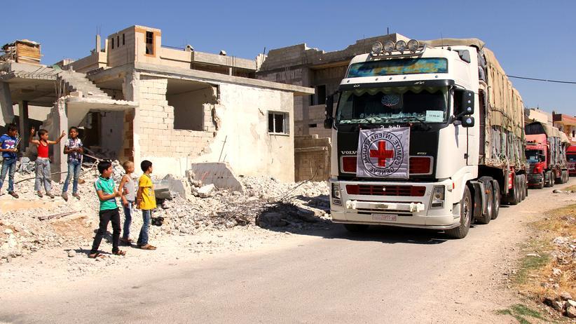Syrien: Angriff auf Hilfskonvoi entzweit USA und Russland