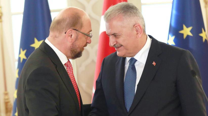 Martin Schulz Binali Yildirim