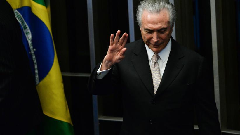 Michel Temer Präsident Brasilien