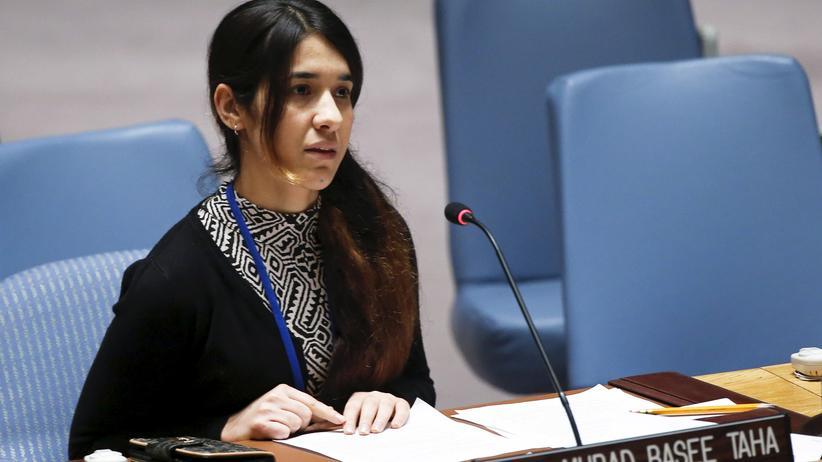 Vereinte Nationen: Ehemalige IS-Gefangene wird UN-Sonderbotschafterin