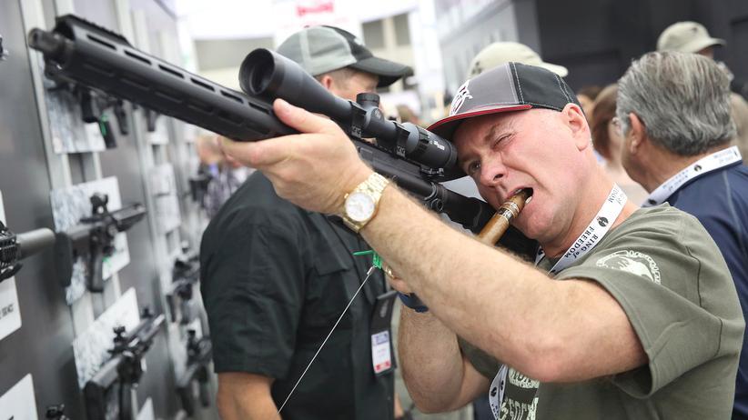 USA: Immer weniger Menschen haben immer mehr Waffen