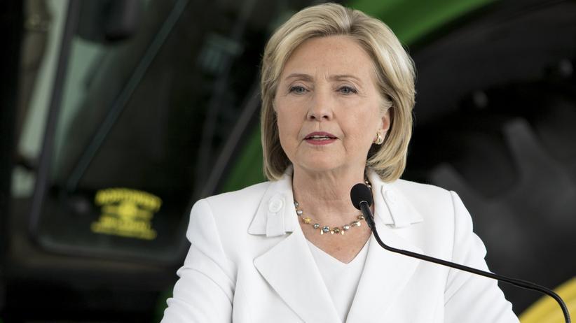 US-Wahlkampf: Die Präsidentschaftskandidatin der Demokraten, Hillary Clinton