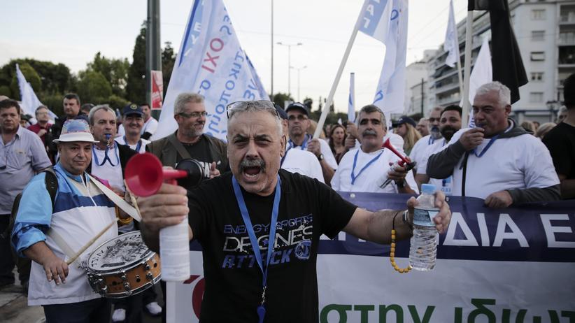 Sparmaßnahmen: Griechisches Parlament stimmt weiteren Privatisierungen zu