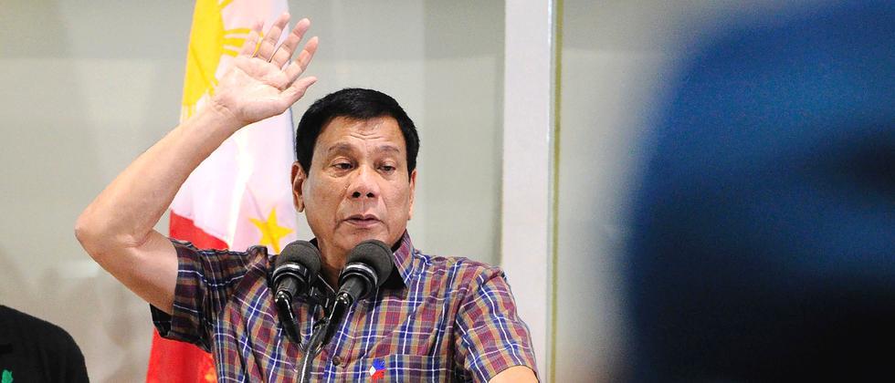 Rodrigo Duterte Philippinen