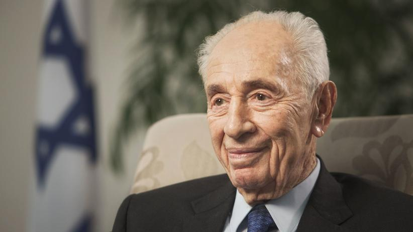 Schimon Peres Präsident Israel