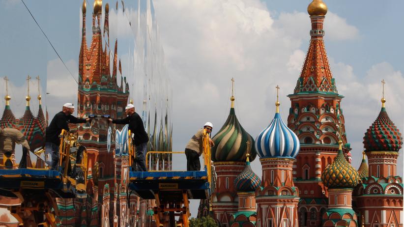 Lewada-Zentrum: Basilius-Kathedrale in Moskau