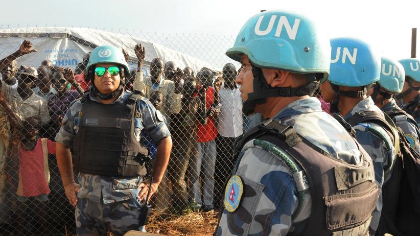 Südsudan Blauhelme