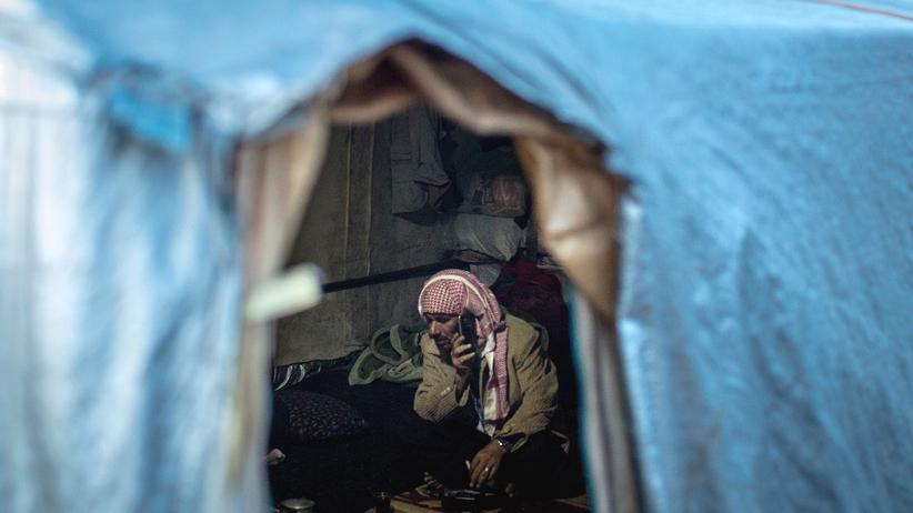 Türkei: Flüchtling in einem Lager nahe Izmir in der Türkei