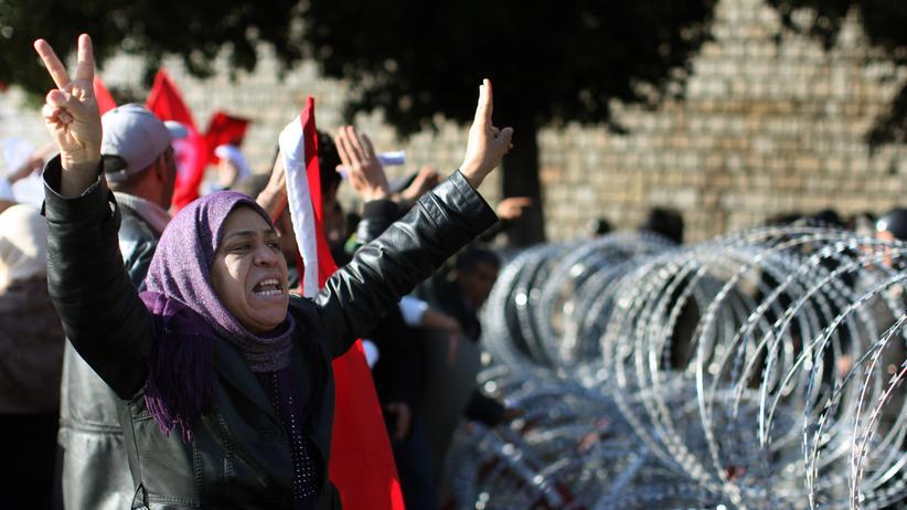 Tunesien Tunis Protest Demonstration