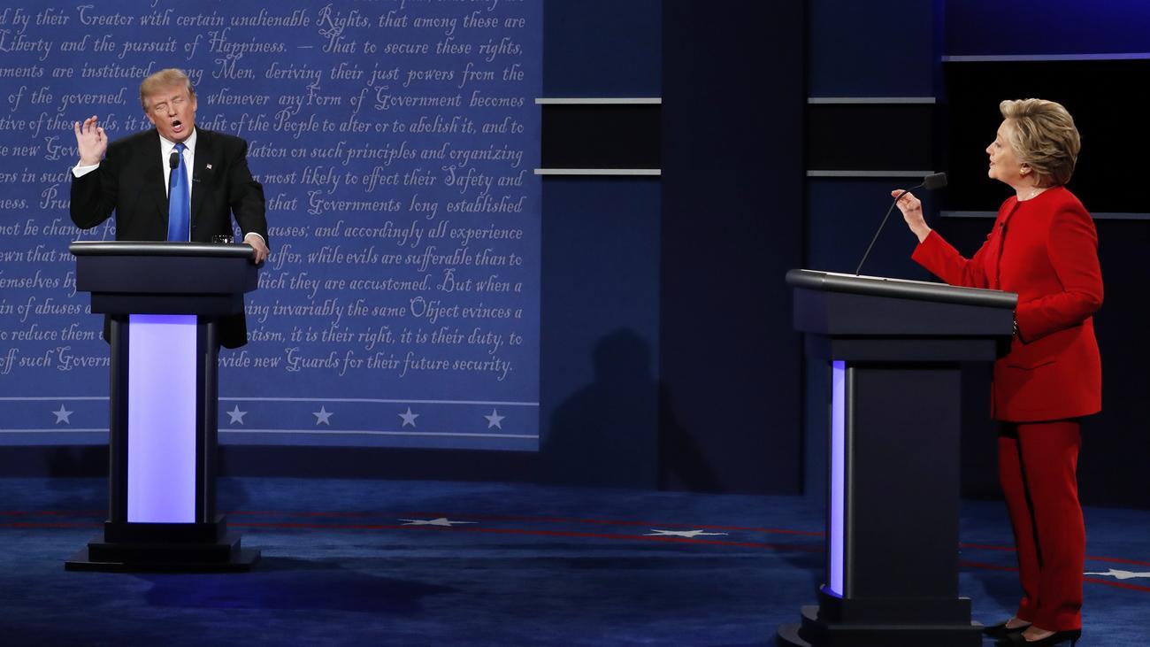 Tv Duell Clinton Trump Stream