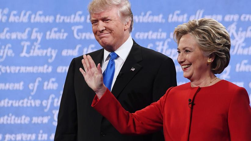 TV-Duell US-Wahl Hillary Clinton Donald Trump