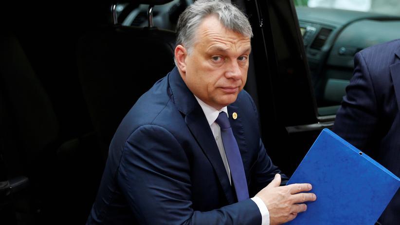 Ungarn: Ungarns Ministerpräsident Viktor Orbán beim EU-Gipfel in Brüssel
