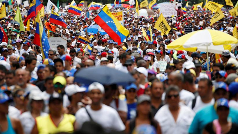 Venezuela Demonstranten Opposition Caracas