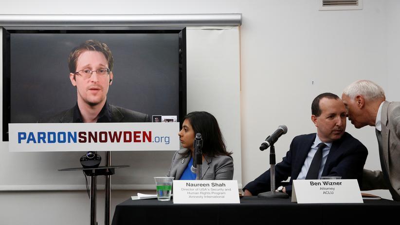 Whistleblower: Veranstaltung der Kampagne zur Begnadigung von Edward Snowden in New York