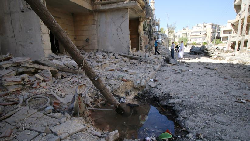 Syrien: Seit dem Ende der Waffenruhe fliegen Russland und Syrien wieder heftige Angriffe auf Aleppo.