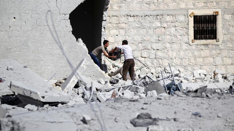 Aleppo: Das Dorf Guzhe im Norden der umkämpften Stadt Aleppo