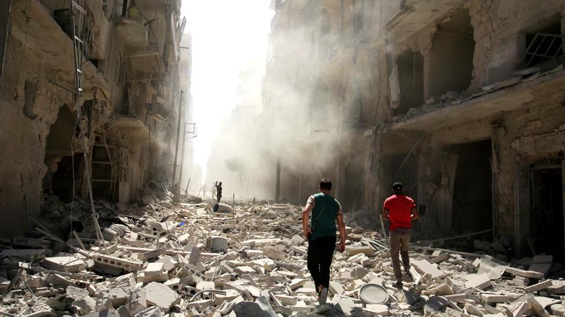 Syrien: Russland verteidigt Luftangriffe auf Aleppo
