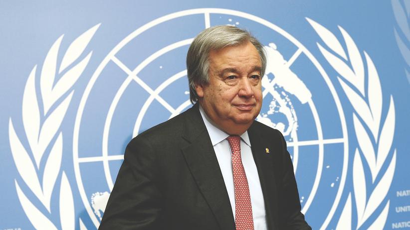 António Guterres UN Generalsekretär