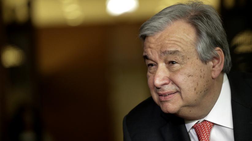 Vereinte Nationen: Der ehemalige portugiesische Regierungschef António Guterres.