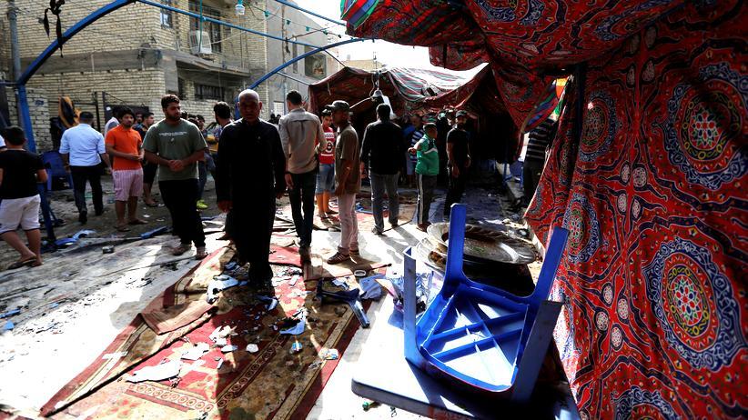 Schaab im Norden Bagdads
