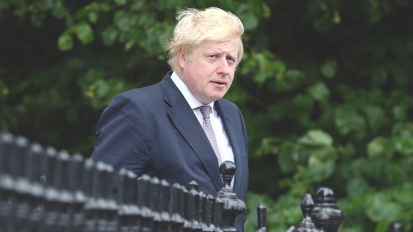 Boris Johnson Britischer Außenminister