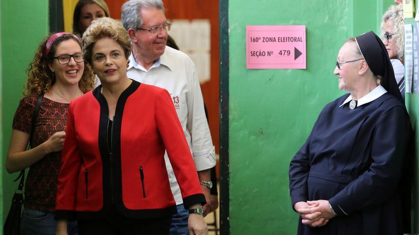 Brasilien: Schwere Niederlage für Rousseffs Partei