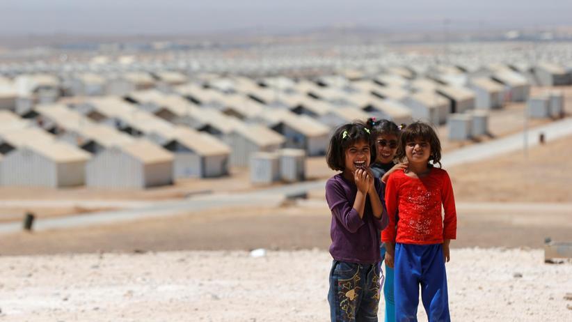 Flüchtlingskrise: Flüchtlingscamp in Jordanien
