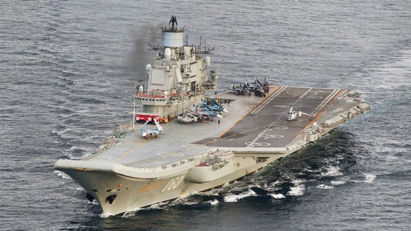 """""""Admiral Kusnezow"""": Russische Kriegsschiffe werden nicht in Spanien tanken"""