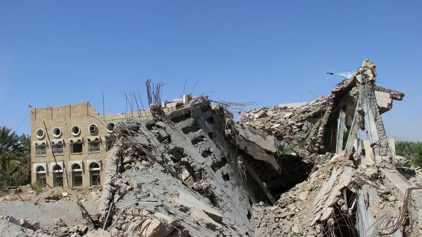 Jemen: Im Jemen kommt es immer wieder zu Luftangriffen auf zivile Gebäude. (Archivbild)