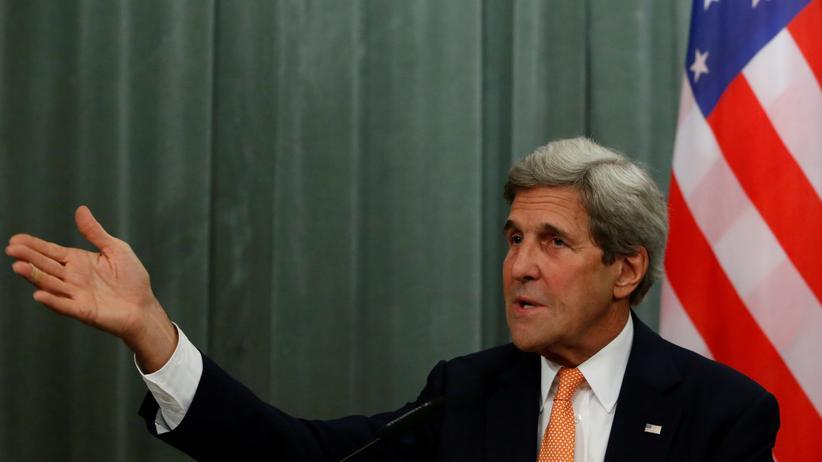John Kerry: US-Außenminister John Kerry im Juli bei einem Treffen mit seinem russischen Amtskollegen Sergej Lawrow in Moskau
