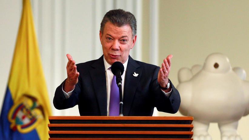 Kolumbien: Santos will Preisgeld an Opfer spenden