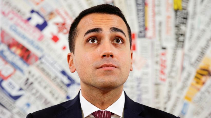 Luigi Di Maio: Luigi di Maio ist Vorstandsmitglied der Fünf-Sterne-Bewegung