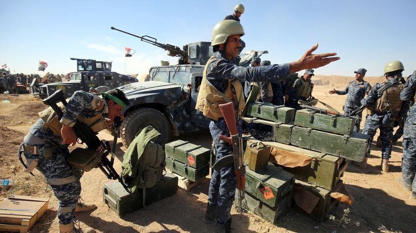 Irak: Vorbereitungen auf die Offensive in der Nähe von Mossul
