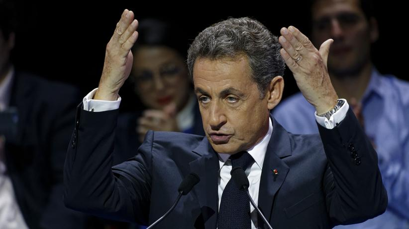 Nicolas Sarkozy: Wahlkämpfer Nicolas Sarkozy in Paris