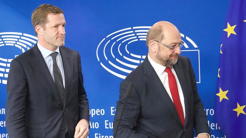 Paul Magnette Martin Schulz Brüssel Ceta