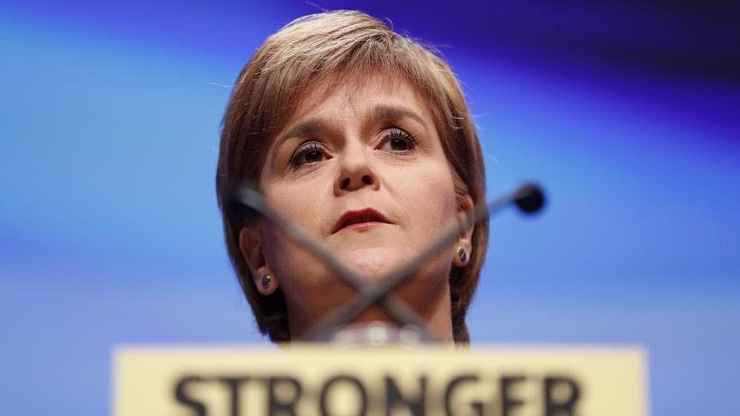 Unabhängigkeitsreferendum: Die schottische Premierministerin Nicola Sturgeon