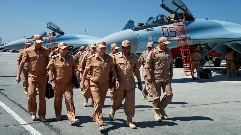 Bürgerkrieg: Russland beschließt dauerhafte Militärpräsenz in Syrien