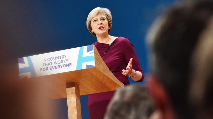 """Tory-Parteitag: May nennt Brexit-Votum """"stille Revolution"""""""