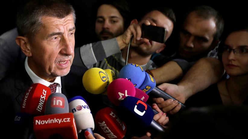 Tschechien: Der Milliardär Andrej Babiš geht als Sieger aus den Regional- und Teilsenatswahlen hervor.