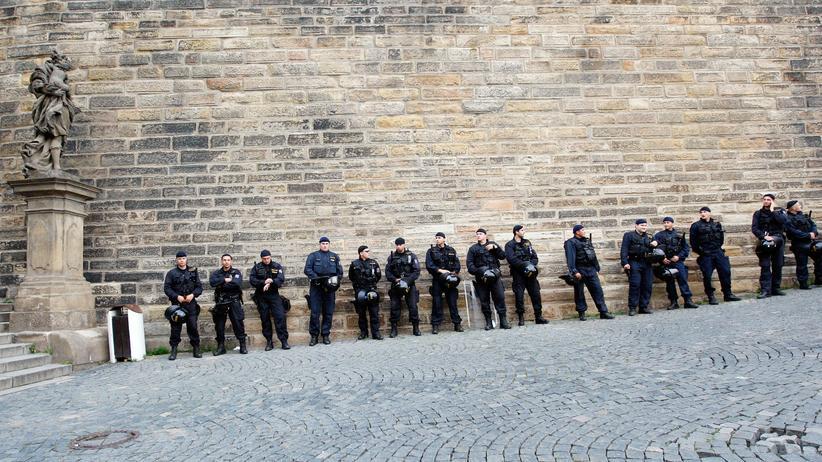 Interpol: Polizei in der tschechischen Hauptstadt Prag