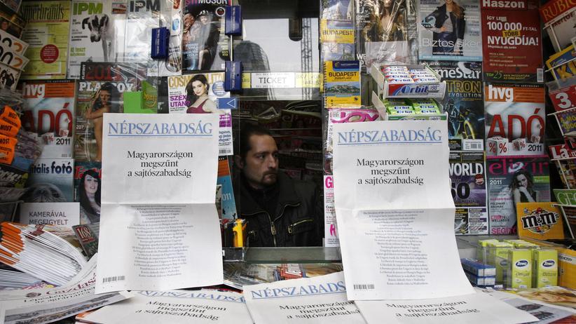 Ungarn: OSZE kritisiert Einstellung von größter Oppositionszeitung