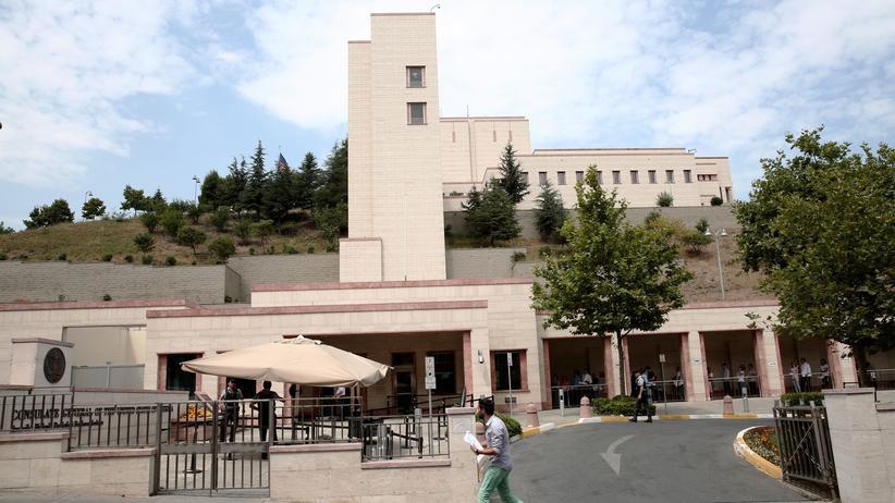 Türkei: Das US-Konsulat in Istanbul im August 2015