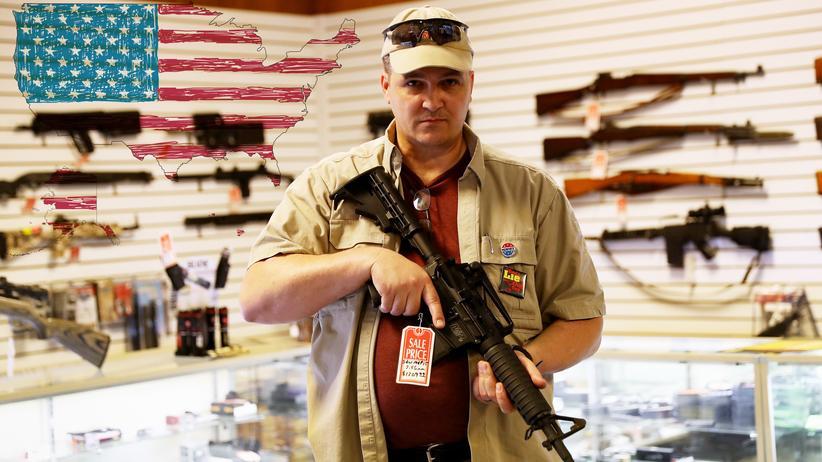 USA: Waffengeschäft in Arizona, wo die Bestimmungen besonders lasch sind