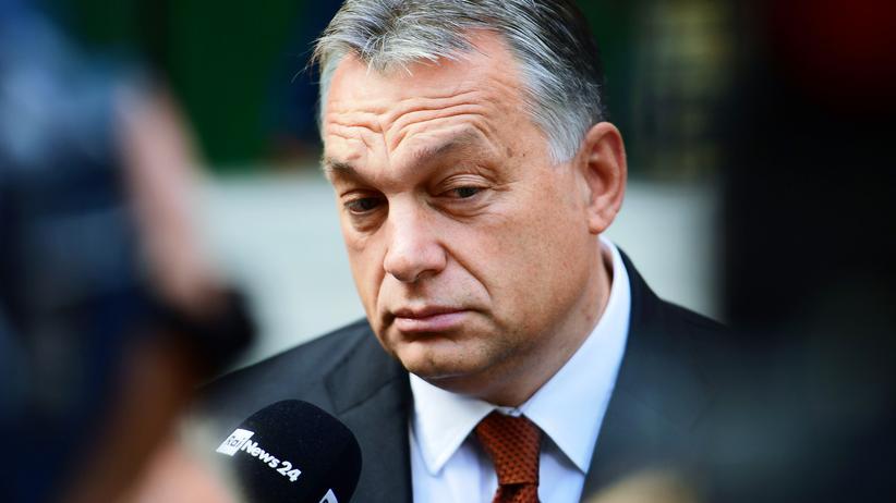 Ungarn: Viktor Orbán am Tag des Referendums zur EU-Flüchtlingspolitik in Budapest