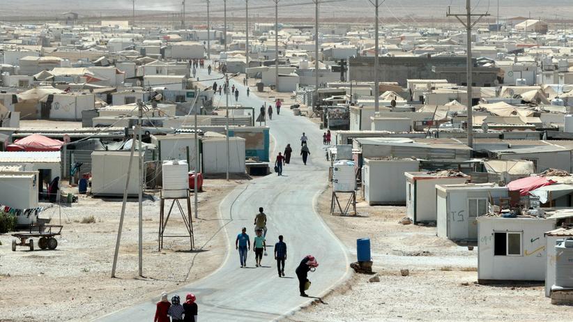 Flüchtlingshilfe: Das UN-Flüchtlingslager Zaatari in Jordanien