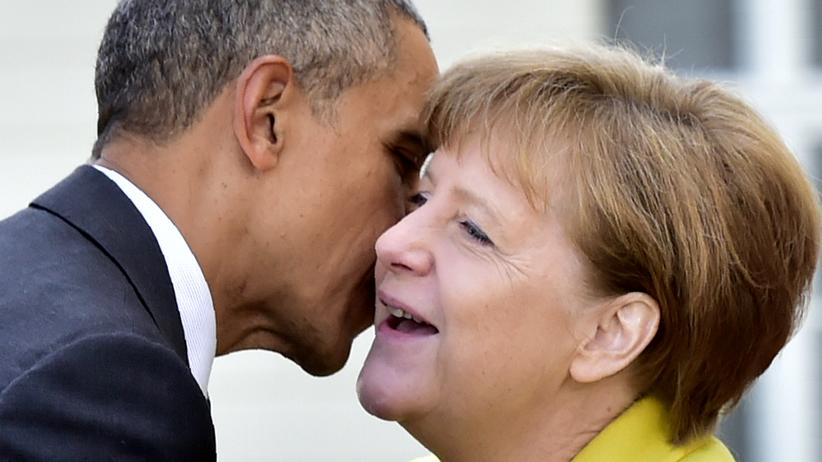 Angela Merkel und Barack Obama: Time to say tschüssi