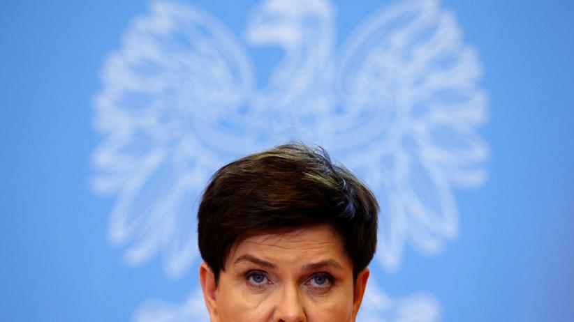 Polen: Die polnische Premierministerin Beata Szydło, Bild vom September 2016